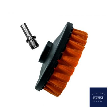 ADB000360 ADBL TWISTER SOFT Forgókefe kárpit és szőnyeg tisztításához - átmérő 125 mm
