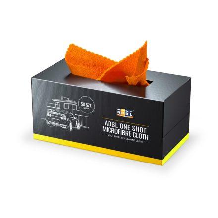 ADBL ONE SHOT MICROFIBRE CLOTH Mikroszálas kendő dobozban 50 db